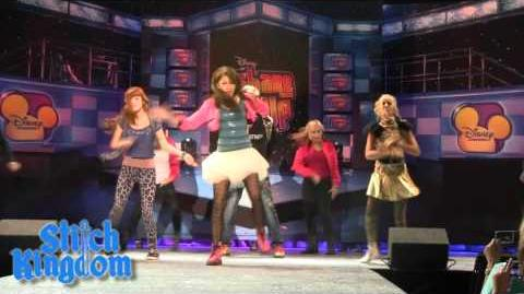 Shake It Up Cast Dance from D23 Expo - Bella Thorne, Zendaya
