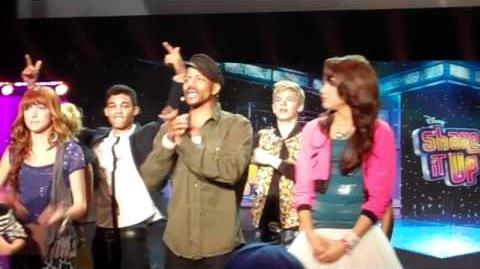 Dance Lessons With Shake It Up Cast And Choreographer Rosero McCoy Live From D23 Expo 2011