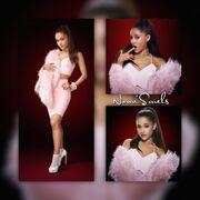 ArianaGrandePink2Piece