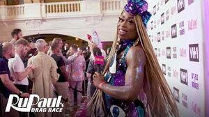 Monique Heart y las Reinas de la Temporada 11 en la Alfombra Roja de la Final