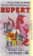 Rupert and the Knight vhs