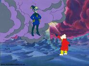 Original hand painted rupert bear production cel by animationvalley-d5qhz14