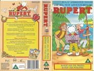Rupert and the Pirates VHS Cover