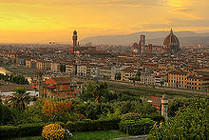 220px-Sunset over florence 1