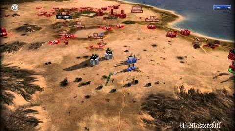 RUSE Mission 5 Digging Out The Fox Gameplay Hard (Wargamer) Difficulty (1 2)