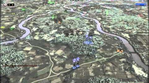 RUSE Mission 16 Wacht Am Rhein Gameplay Hard (Wargamer) Difficulty (1 2)