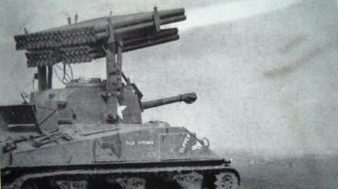 World War 2 TANKS Sherman T34 Rocket Artillery