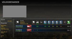 Volksgrenadier info