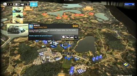 RUSE Mission 21 Secret Weapons Gameplay Hard (Wargamer) Difficulty (1 2)