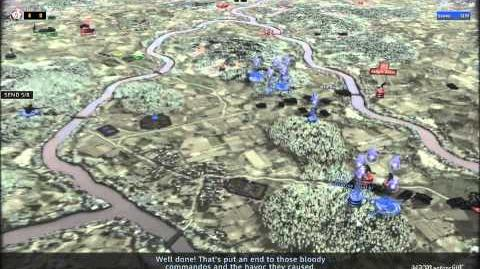 RUSE Mission 16 Wacht Am Rhein Gameplay Hard (Wargamer) Difficulty (2 2)