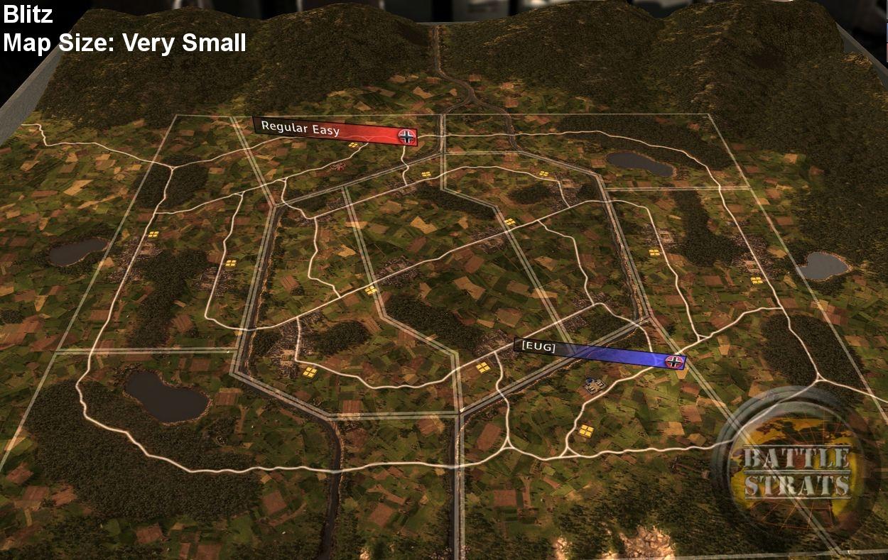 Blitz map RUSE Wiki FANDOM powered by Wikia