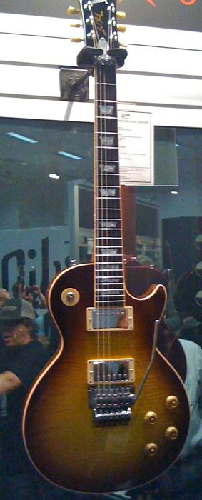 Gibson Les Paul Axcess Alex Lifeson Viceroy Brown Rush