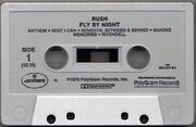 Fly by Night, Mercury 822 542-4cassette