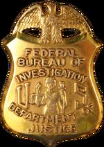 Badge of the Federal Bureau of Investigation