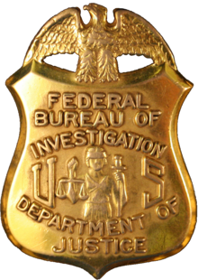Badge of the Federal Bureau of Investigation