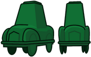 Darkgreen car