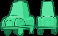 Teal car