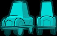 Lightblue car
