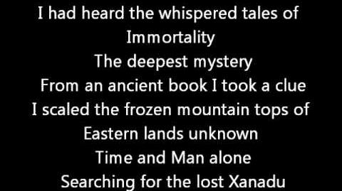 Rush-Xanadu (Lyrics)