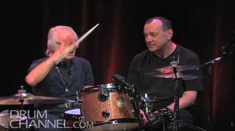 Neil Peart & Freddie Gruber
