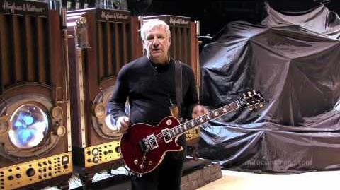 "Alex Lifeson Gear Interview Rush ""Time Machine Tour"" 2011"