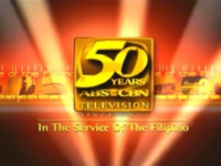 ABS-CBN SID Test Card 50 Years of Philippine Television