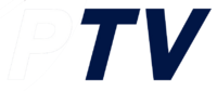PTV 4 Wordmark Logo 2000