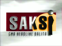 Saksi GMA Headline Balita OBB 1995