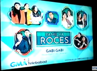 GMA Pamilya Roces Test Card