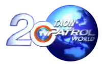 TV Patrol Logo 20th Anniversary