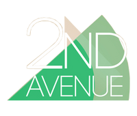 2nd Avenue 3D Logo 2014