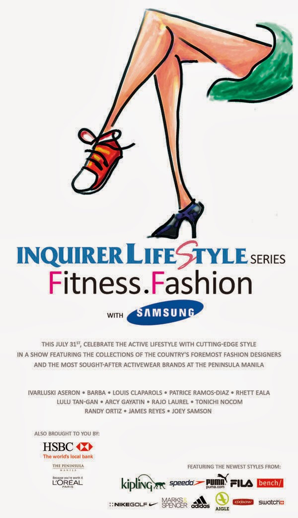 INQUIRER Lifestyle Series Fitness Fashion with Samsung