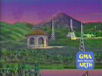 GMA Radio-Television Arts Sign On and Sign Off Background (1988-1989)