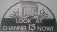 IBC 13 1975 Slogan