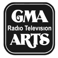 GMA Radio-Television Arts Print Logo 1982