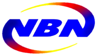 NBN 4 Wordmark Logo (2001-2011)
