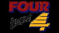 PTV 4 Four For You! Logo 1989