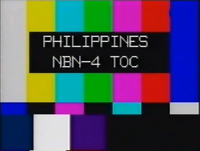 NBN 4 TOC Test Card (2001-2011)
