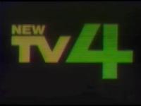 New TV 4 Logo ID 1986