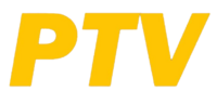 PTV 4 Wordmark Logo 1998