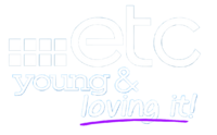 ETC Young & Loving It 2D Logo (2012-2014)