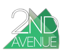 2nd Avenue 3D Logo 2015