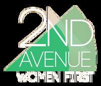 2nd Avenue Women First 3D Logo 2014