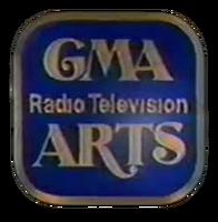 GMA Radio-Television Arts 3D Logo 1985
