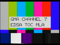 GMA Test Card (1993-2005)