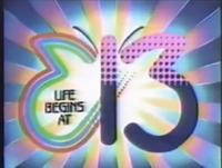 E 13 Logo ID 1987