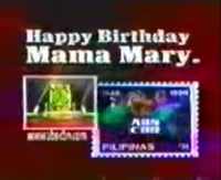 ABS-CBN Happy Birthday, Mama Mary