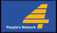 PTV 4 Print Logo (1989-1995)