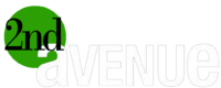 2nd Avenue Negative Logo (2007-2011)