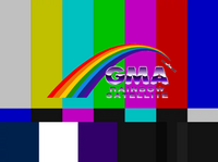 GMA Rainbow Satellite Test Card 1992